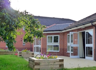 Rear of Nightingale Care Home